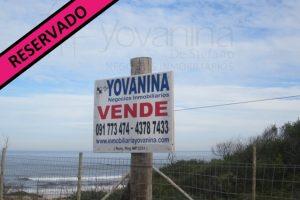 Terreno Frente al Mar Santa Ana Reservado